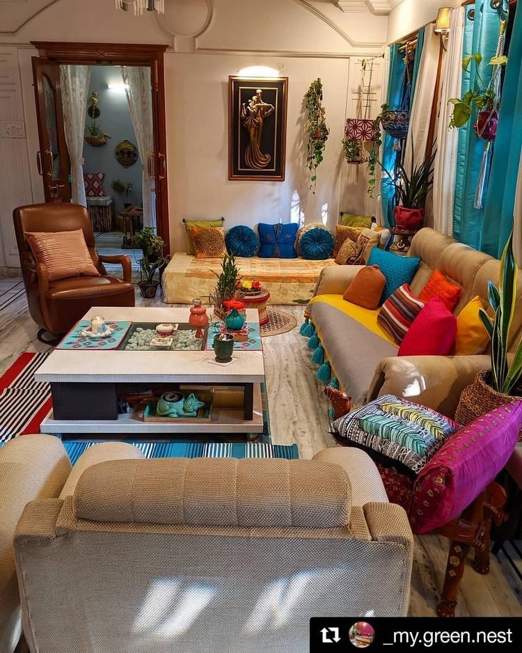 Elegant Bohemian Home Interior Decor Design (25)