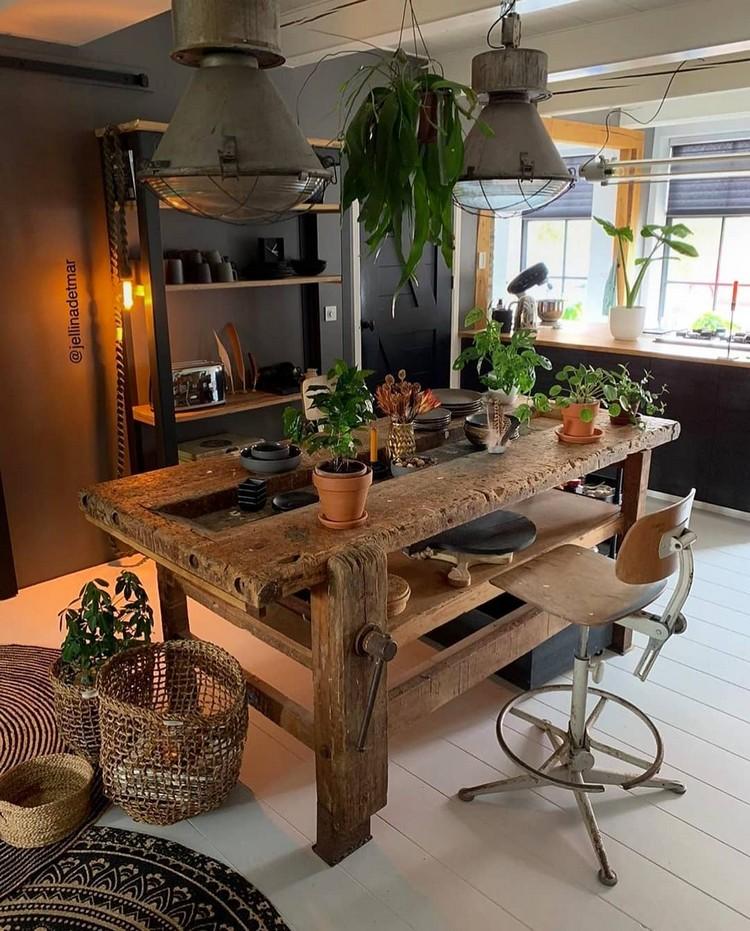 Elegant Bohemian Home Interior Decor Design (27)