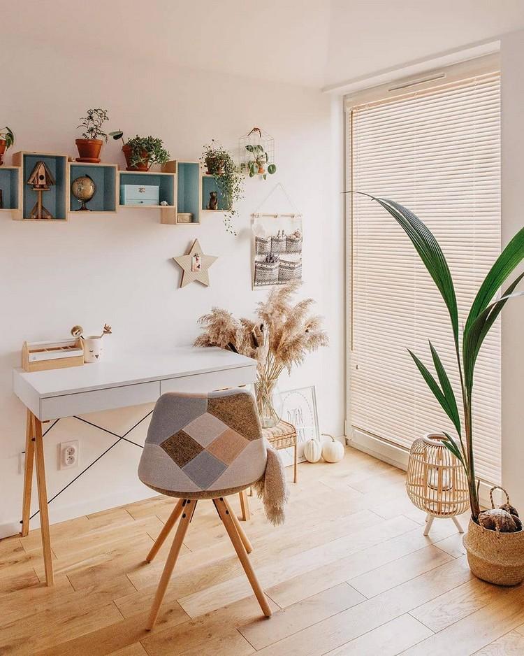 Elegant Bohemian Home Interior Decor Design (28)