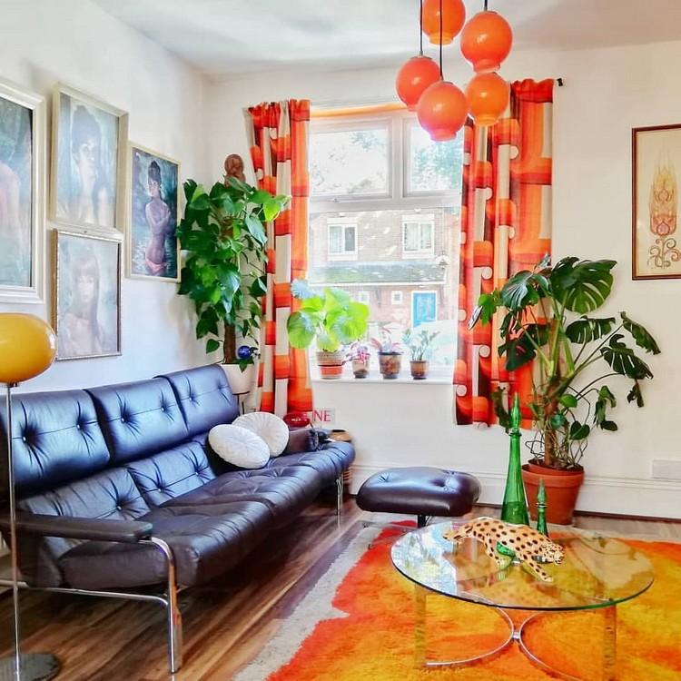 Elegant Bohemian Home Interior Decor Design (29)