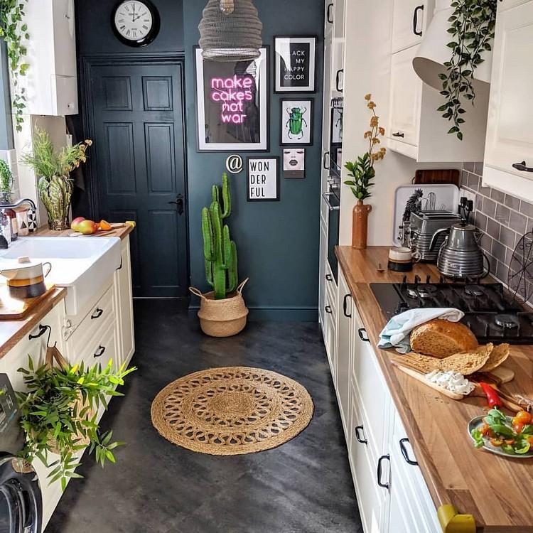 Elegant Bohemian Home Interior Decor Design (33)