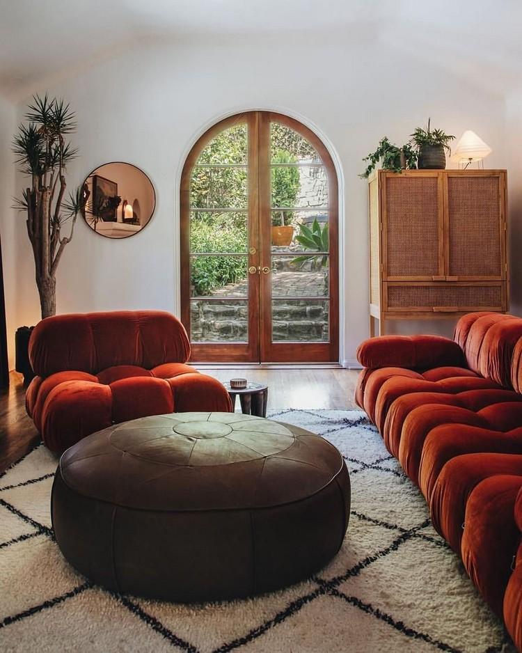 Elegant Bohemian Home Interior Decor Design (35)