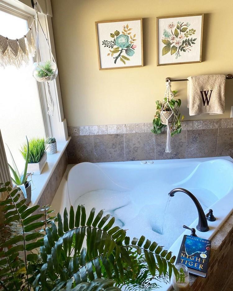 Elegant Bohemian Home Interior Decor Design (37)