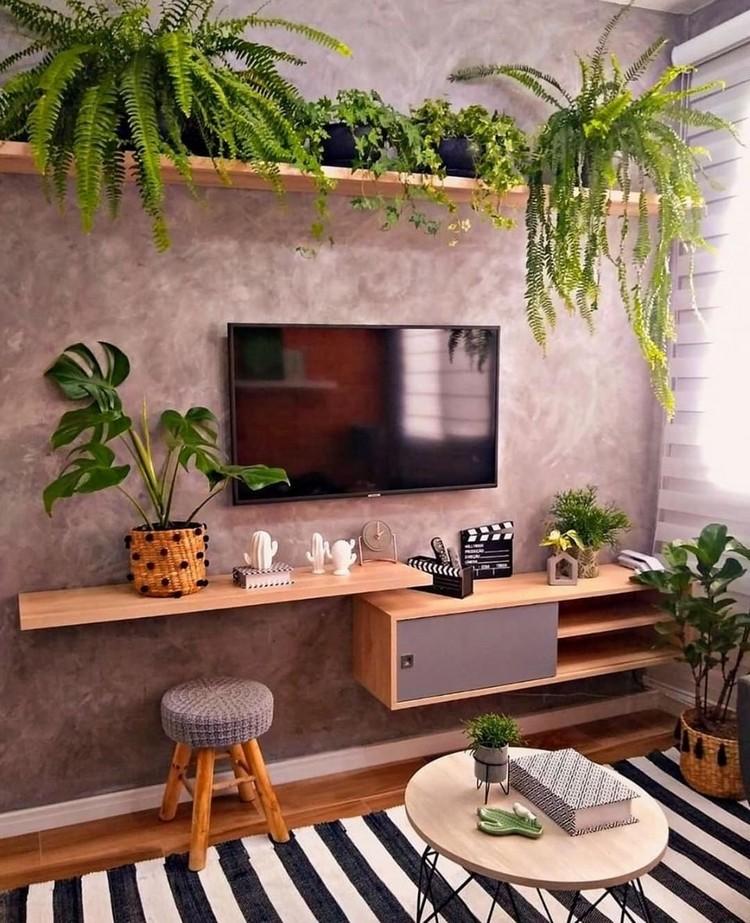 Elegant Bohemian Home Interior Decor Design (38)