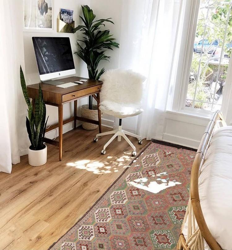 Elegant Bohemian Home Interior Decor Design (4)