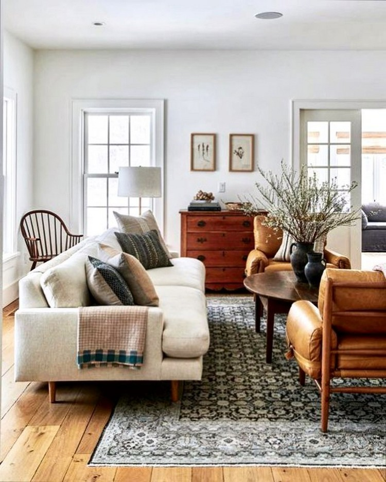 Elegant Bohemian Home Interior Decor Design (41)