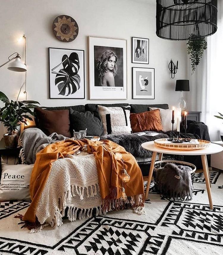 Elegant Bohemian Home Interior Decor Design (7)