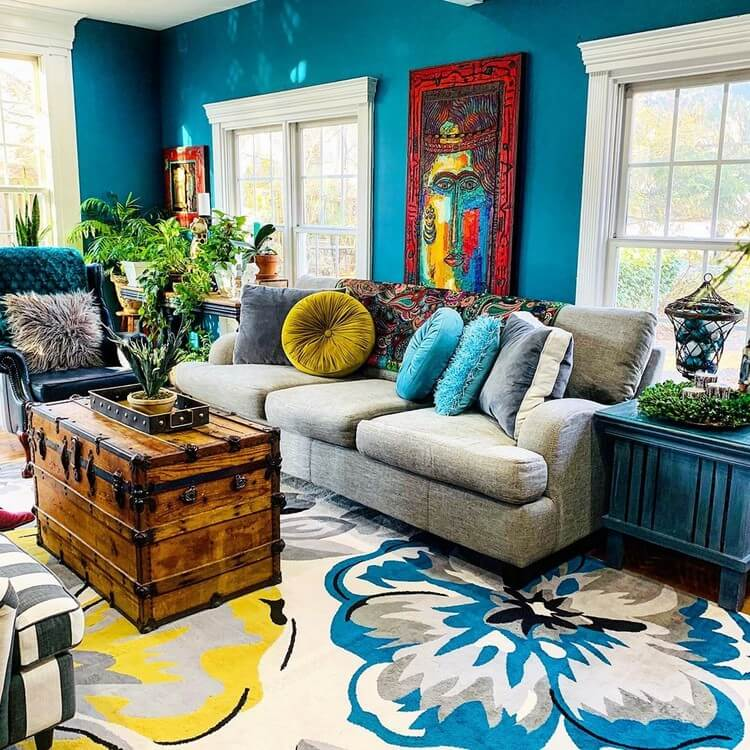 Fantastic Bohemian Interior Decor Design (1)