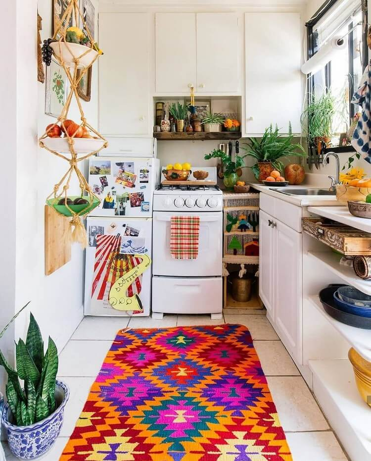 Fantastic Bohemian Interior Decor Design (14)