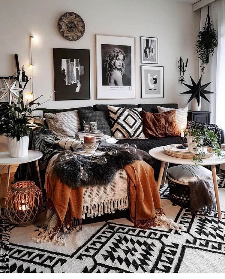 Fantastic Bohemian Interior Decor Design (23)