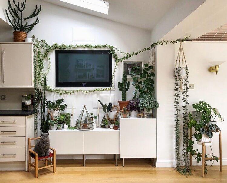 Fantastic Bohemian Interior Decor Design (37)
