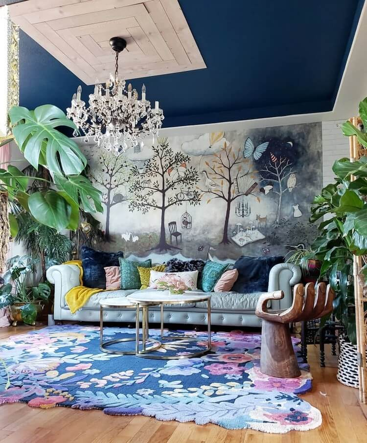 Fantastic Bohemian Interior Decor Design (42)