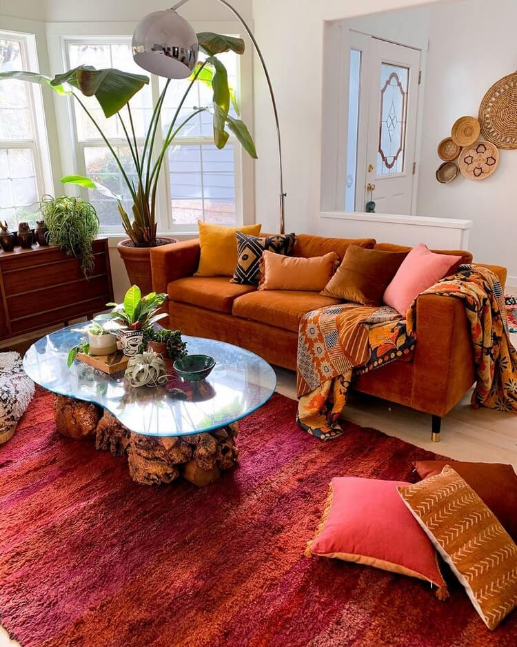 Fantastic Bohemian Interior Decor Design (45)