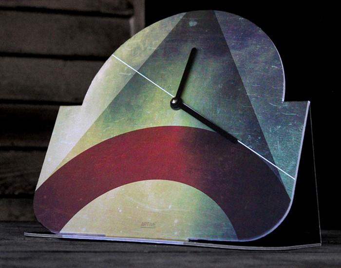 Cardboard Clock Designs