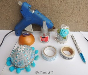 DIY Recycled Crafts Washi Tape