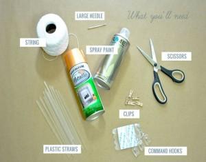 DIY Recycled Straws