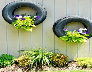 DIY Recycled Tires