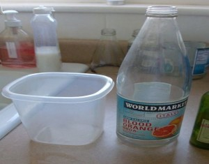 Easily Remove Labels for Glass Bottles Crafts