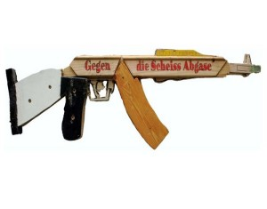 Fake Weapons with Recycled Material