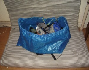 Recycled Bag Backpack Ideas