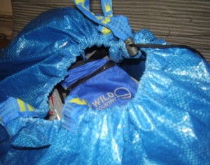Recycled Ikea Bag Backpack