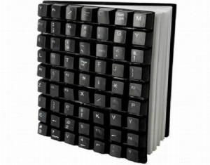 Recycled Keyboard Book Cover Ideas