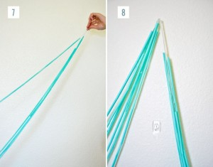 Recycled Straws Backdrop Designs