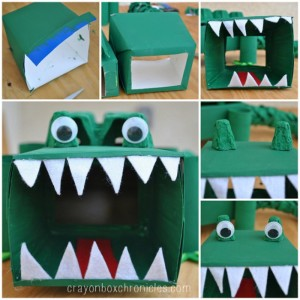 Alligator Face Making