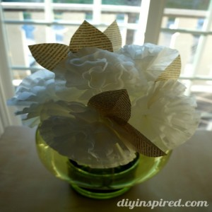 Beautiful Flowers Made from Coffee Filter Paper