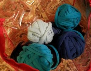 DIY Crochet Rug Repurposed T Shirt