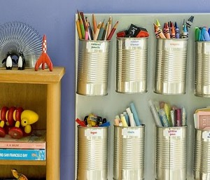 DIY Recycled Tin Cans Ideas
