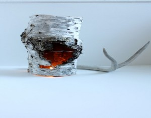 DIY Repurposed Wood Candle Holder