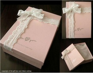 DIY Romantic Gift Boxes Crafts