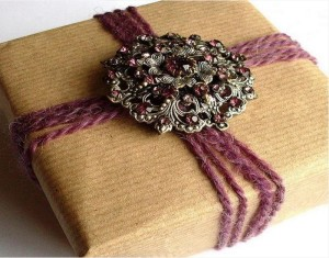 DIY Romantic Gift Boxes from Recycled Material
