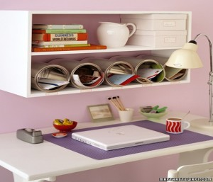 DIY Storage Made of Recycled Tin Cans Ideas