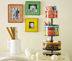 10 Ways To Turn Tin Cans Into Handy Organizers