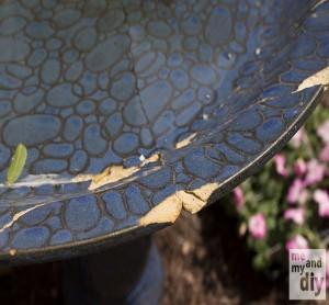 DIY Tile Birth Day Using Table Idea