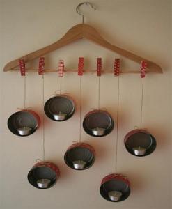DIY Tins Candle Lights Hanging