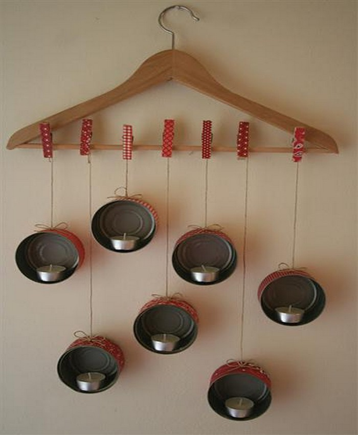 DIY Tins Candle Lights Hanging