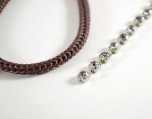 DIY Unique idea for Rhinestone Wrapped Bracelet