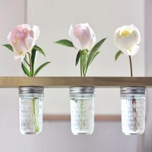 Flower Holder Mason Jars