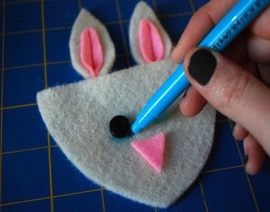 Fuzzy Bunny Slippers From Recycled Material Crafts