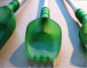 Old Glass Bottles Unique Utensils