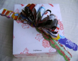 Recycleable Paper Bow