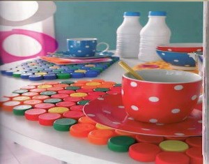 Recycled Bottle Caps Crafts Ideas
