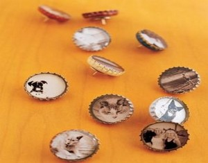 Recycled Bottle Top Caps Craft