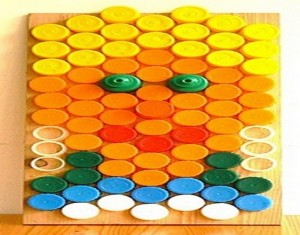 Recycled Bottle Caps Ideas