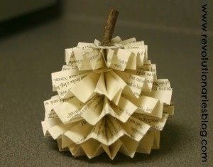 Recycled Paper Pumpkins Designs