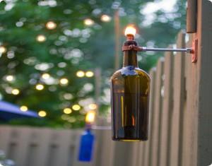 Recycled Vine Bottles Crafts