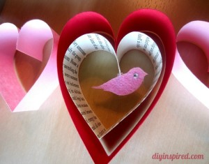 Valentines Day Craft Garland Designs